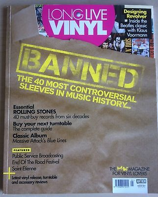 Long Live Vinyl Magazine August 2017 - Banned
