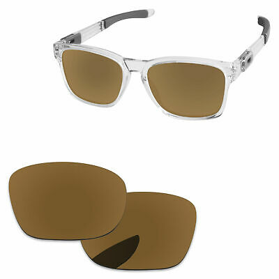 5062968041 PapaViva Bronze Golden Polarized Replacement Lenses For-Oakley Catalyst  Sunglass
