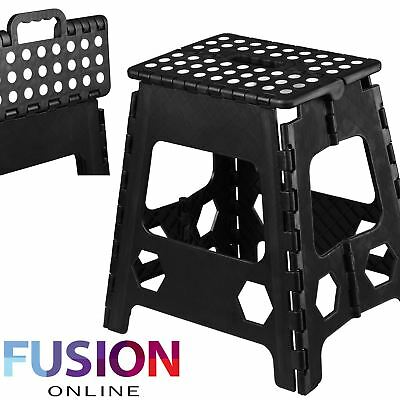 Large Plastic Multi Purpose Folding Step Up Stool Kitchen Home Disability Ladder