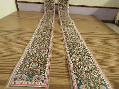 2x new Dolls House stairs Turkish Carpet 1.12th scale lot 56
