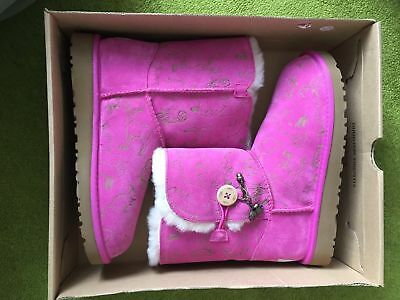 Genuine Uggs Winter Boots Size 4us/3uk