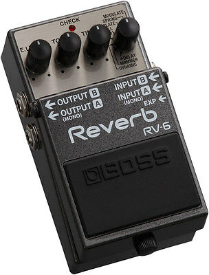 Pedale Boss RV6 Digital Reverb NUOVO!!!
