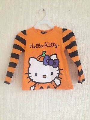 Girls Hello Kitty Top Aged 2 Yrs