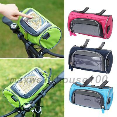 Bicycle Bags Cycling Front Handlebar Touch Screen Phone Bag for Riding