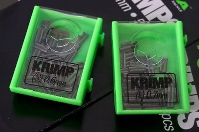 Korda Spare Krimps (NEW designed For the Korda Boom Fluro) - 0.6mm BACK IN STOCK