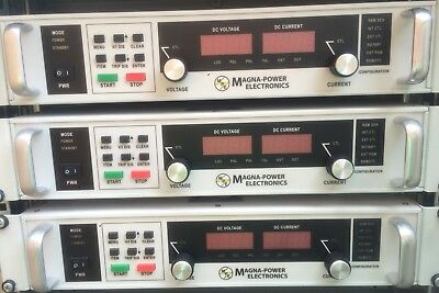 Magna Power Programmable DC power supply XR series 3 lll 3ph .