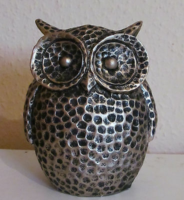 Latex Mould Mold Wide Eyed Owl Garden Ornament