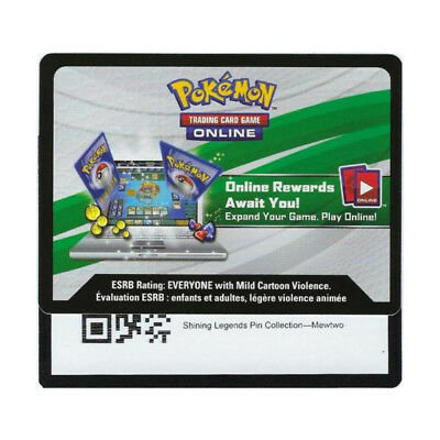 Emailed Pokemon shining Legends Pin Box Marshadow SM93 online Reward code