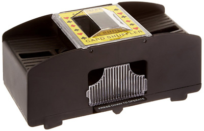Automatic Card Shuffler Two-Deck (For all standard size cards)