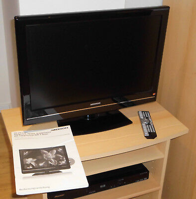 medion lcd tv 22 zoll md30385 eingebauter dvd player. Black Bedroom Furniture Sets. Home Design Ideas