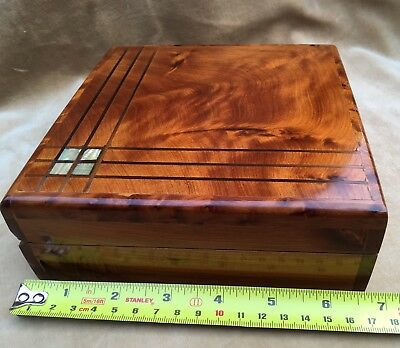Beautiful Solid Wood Inlaid Box