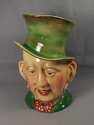 """Large Beswick MR MICAWBER Charles Dickens Character Toby Jug - 9"""" High"""