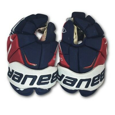 (2) Alex Ovechkin Washington Capitals Game Used Gloves  (Team COA) Playoffs Goal