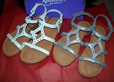 GIRLS SO TOYGER WEDGE SANDALS CREAM MULTIPLE SIZES NEW IN BOX MSRP$39.99