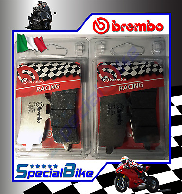 Ducati 1199 Panigale Superleggera 2014 Pastiglie Freno Brembo Rc 2 Coppie Carbon