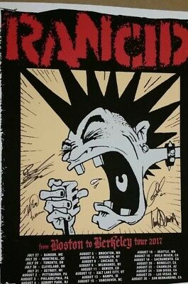 Rancid Signed Limited Edition Poster