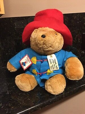 "Paddington Bear Huge 28"" Jumbo Plush 40th Anniversary,  ""kids Gift """