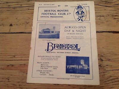 5 October 1935 Bristol Rovers v Crystal Palace