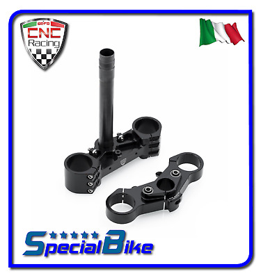 Ducati 1199 Panigale R 2012 > 2014 Piastre Di Sterzo Cnc Racing Offset Variabile