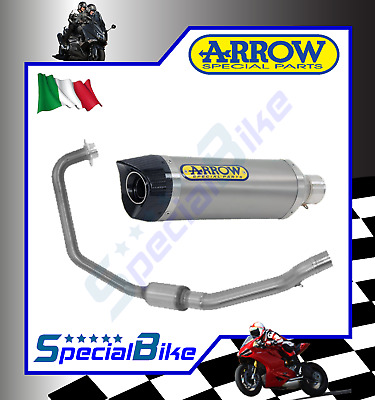 Full System Exhaust Keeway Rkv 125 2011 > Arrow Street Thunder Titanium Kat