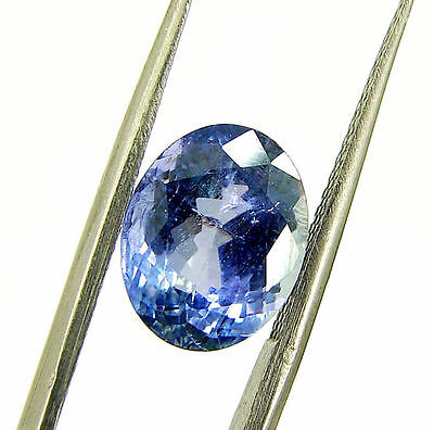 3.37 Ct DGSL Certified Natural Tanzanite Loose Oval Cut Gemstone Stone - 18100