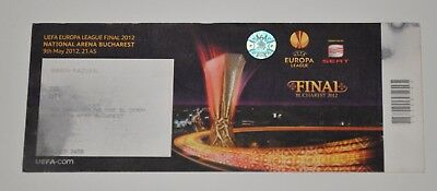 Ticket Final EUROPA LEAGUE 2012 Atletico Madrid (Spain ) vs Athletic Bilbao