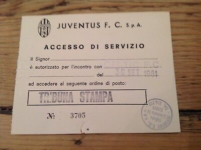 Original Ticket 30 September 1981 Juventus v Celtic European Cup in Italy
