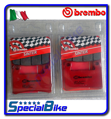 Brembo Sa Sintered Brake Pads 2 Sets For Honda Cbr 600 Rr 2003 > 2004