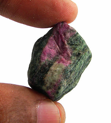 87.00 Ct Natural Ruby Zoisite / Anyolite Loose Gemstone Rough Specimen - 10133