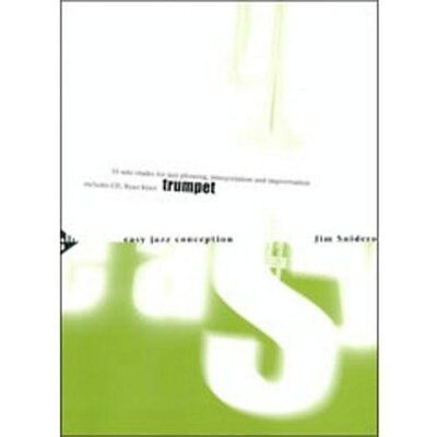 Advance Music Easy Jazz Conception for Trumpet (Book/CD)