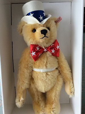 Steiff North American Limited Edition First American Ean 667183 Mint In Box