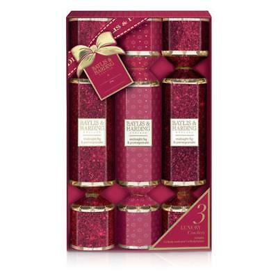 Baylis and Harding Cracker Gift Set - Midnight Fig and Pomegranate