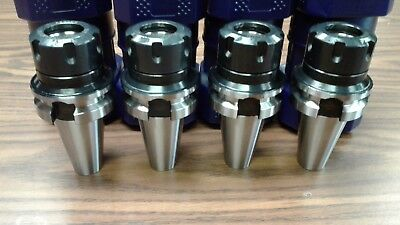 "BT40-ER32 COLLET CHUCK 2.75"" GAGE LENGTH-4 CHUCKS $129.00 ship free-Tool Holders"