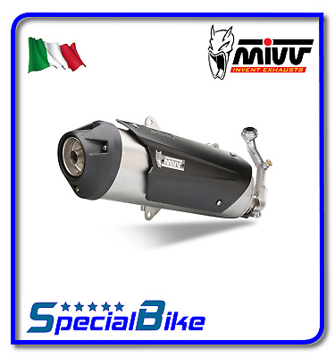 Exhaust Mivv Urban Kymco Xciting 300 2011 Inox Full System Kat