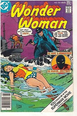 Wonder Woman  # 234 - August 1977 - DC Comics