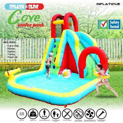 Inflatable Water Slide Cove Water Park | Jumping Castle Bouncer Waterslide