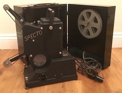 Specto Cine Film Projector Cased and Working Vintage Model E E