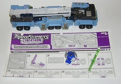 Transformers Mudflap Cybertron Earth Planet 100% Complete