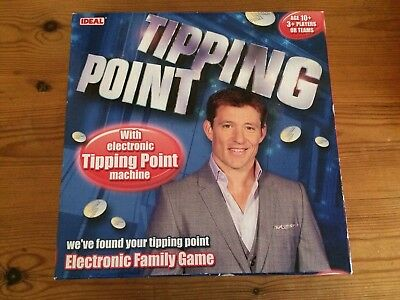 Ideal Tipping Point Electronic Game TV Kids Family Friends Party Quiz used