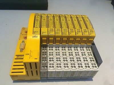 Pilz Safety bus p relay system