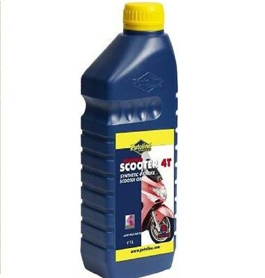 Putoline Scooter 4T Synthetic 4 Stroke Oil 1 Litre 5W/40 or 10W/40 High Quality