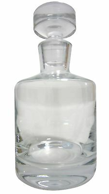 HTFW Classic Round Whisky Decanter 75cl