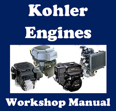 Kohler Engines Workshop Service Repair Manual On Cd