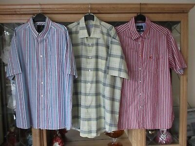 3 PACK BUNDLE MENS SHIRTS - SIZE LARGE - 2 X MARKS and SPENCER 1 X GIANI FEROTI