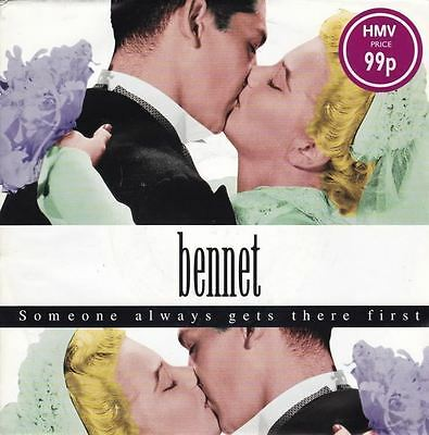 """Someone Always Gets There First 7"""" : Bennet"""