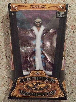 WWE Mattel Elite DEFINING MOMENTS MACHO MAN RANDY SAVAGE Wrestling Figure 52 53