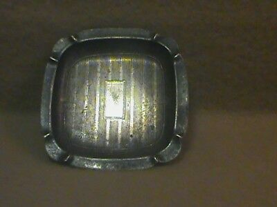 vintage sterling silver tray ashtray etched 20 grams