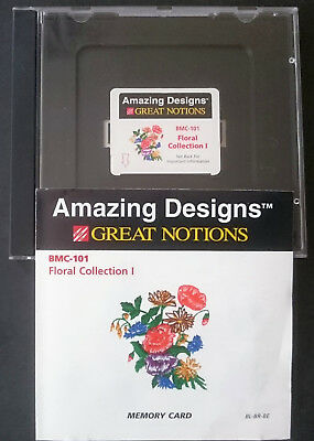 Amazing Designs Brother Memory Card BMC 101 Floral Collection