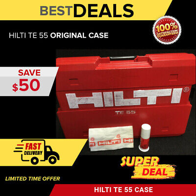 Hilti Te 55 (Tool Case Only), Good Condition, Strong, Original, Fast Shipping