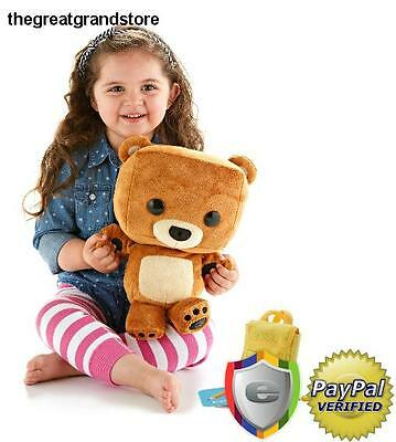 Fisher-Price Smart Toy Bear Learning Friend Image Recognition Child Bedtime Data